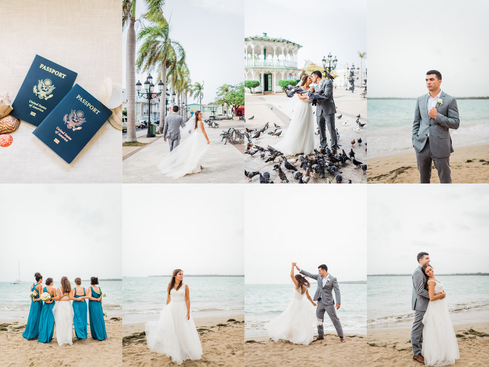 Michaella + Javi | Romantic Bilingual Catholic Mass & Oceanside Fiesta on the Beach in Puerto Plata, Dominican Republic | Indianapolis Elopement & Destination Wedding Photographers