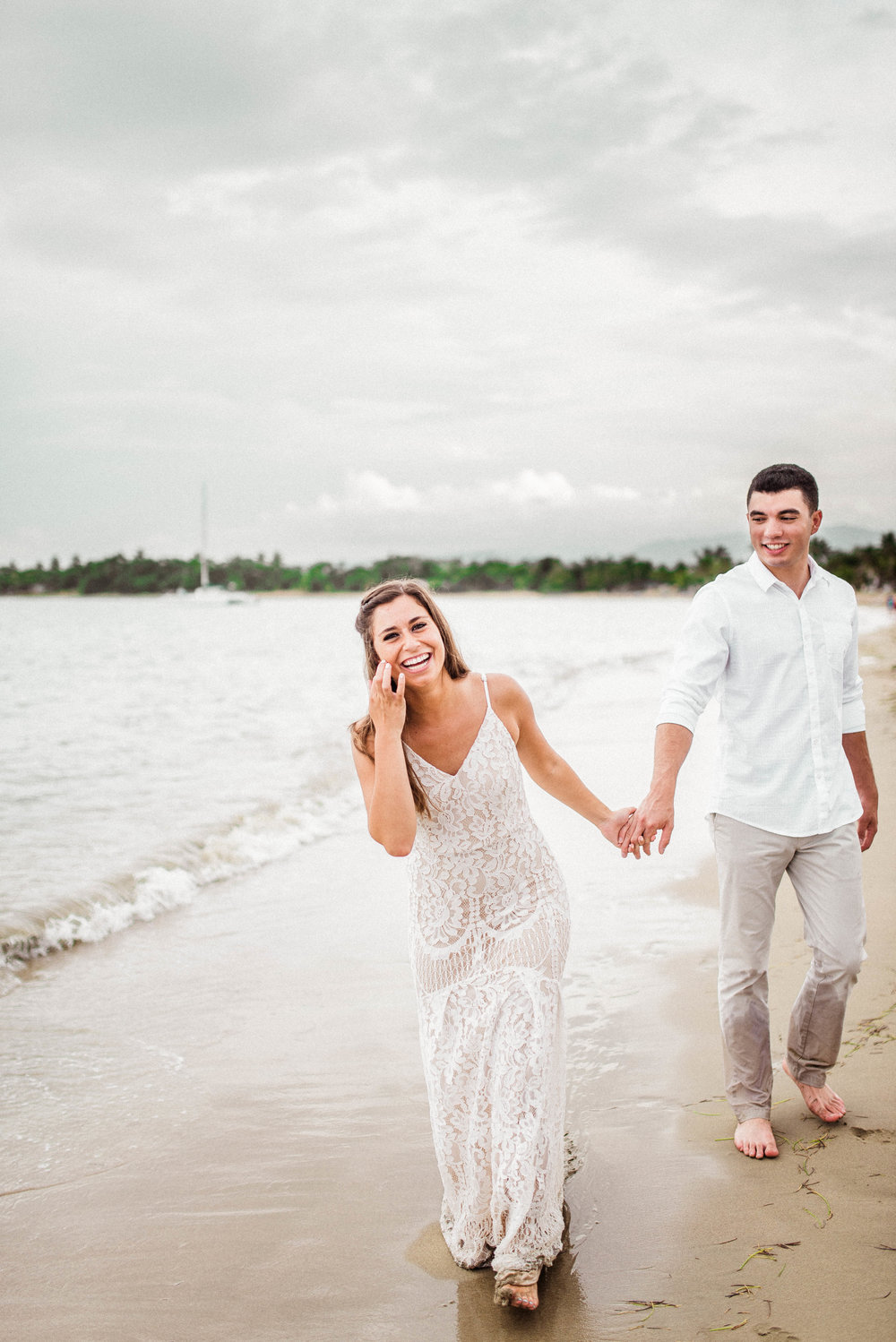 Michaella + Javi | Excited and Romantic International Honeymoon Beach Photography Session in Puerto Plata, Dominican Republic | Indianapolis Destination Wedding Photographers