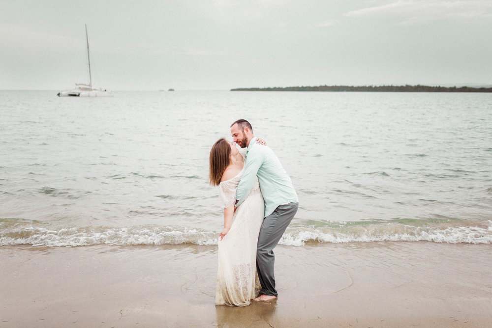 Christina + Joe | Fun-Loving and Romantic Honeymoon Beach Photography Session in Puerto Plata, Dominican Republic | Indianapolis Destination Wedding Photographers
