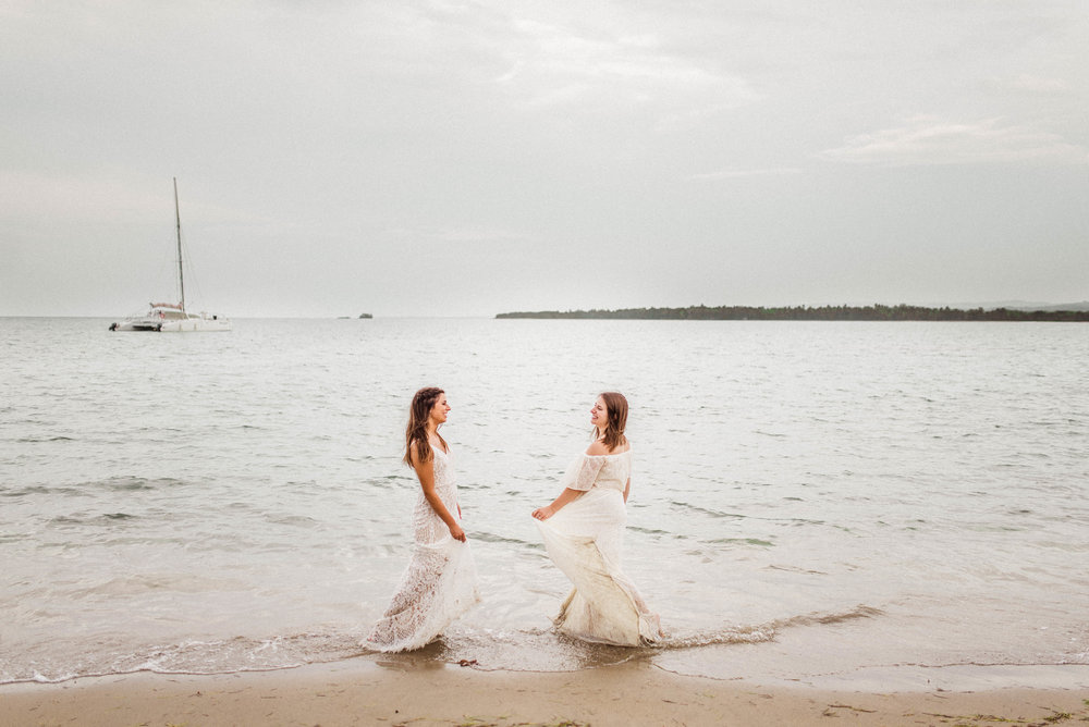 Christina + Michaella | Splish Splash Sister Photography Session in Puerto Plata, Dominican Republic | Indianapolis Destination Lifestyle, Elopement & Wedding Photographers