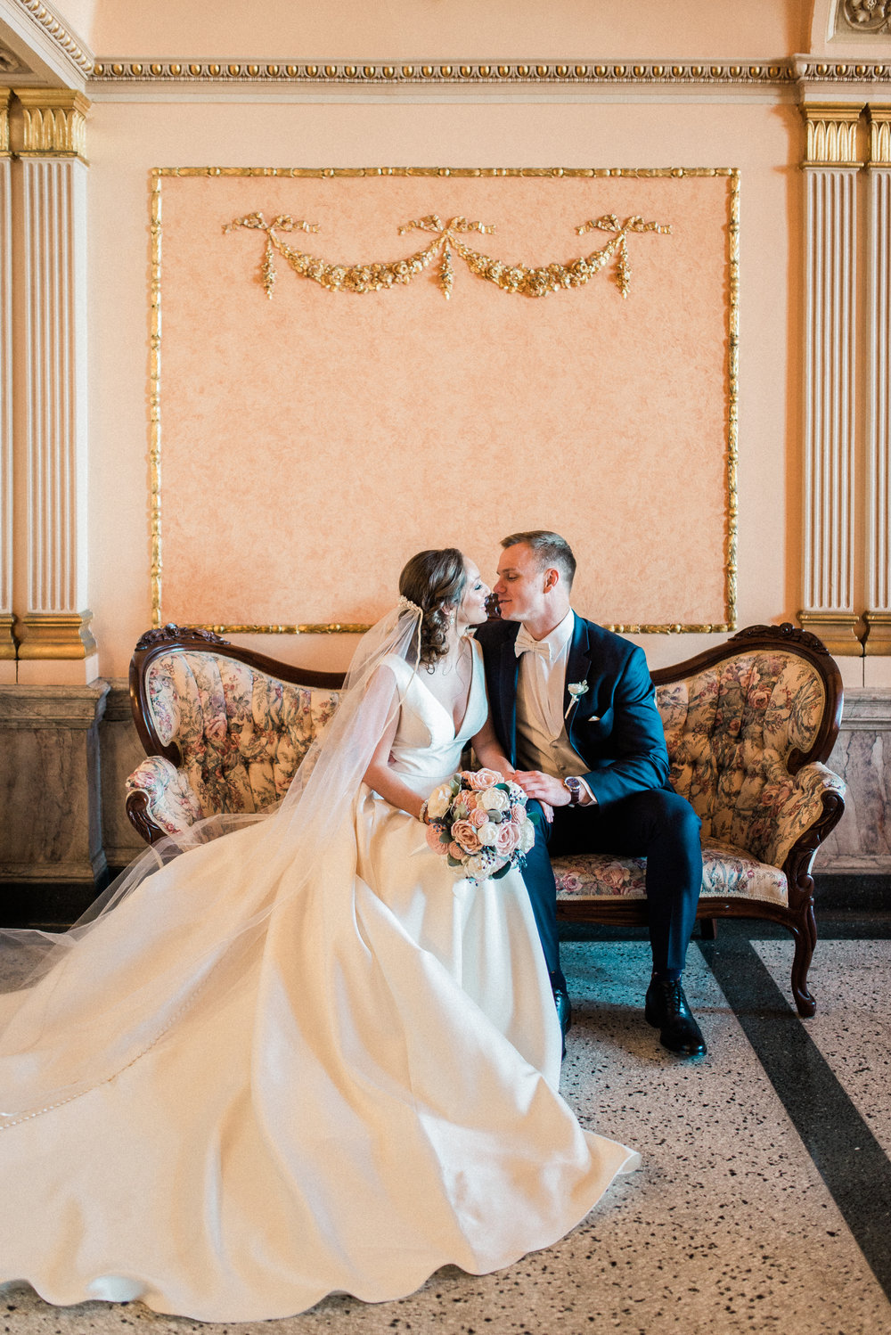Skyler + Dan | A Tale as Old as Time Wedding at Morris Performing Arts Center in South Bend | Indianapolis Destination Wedding Photographers