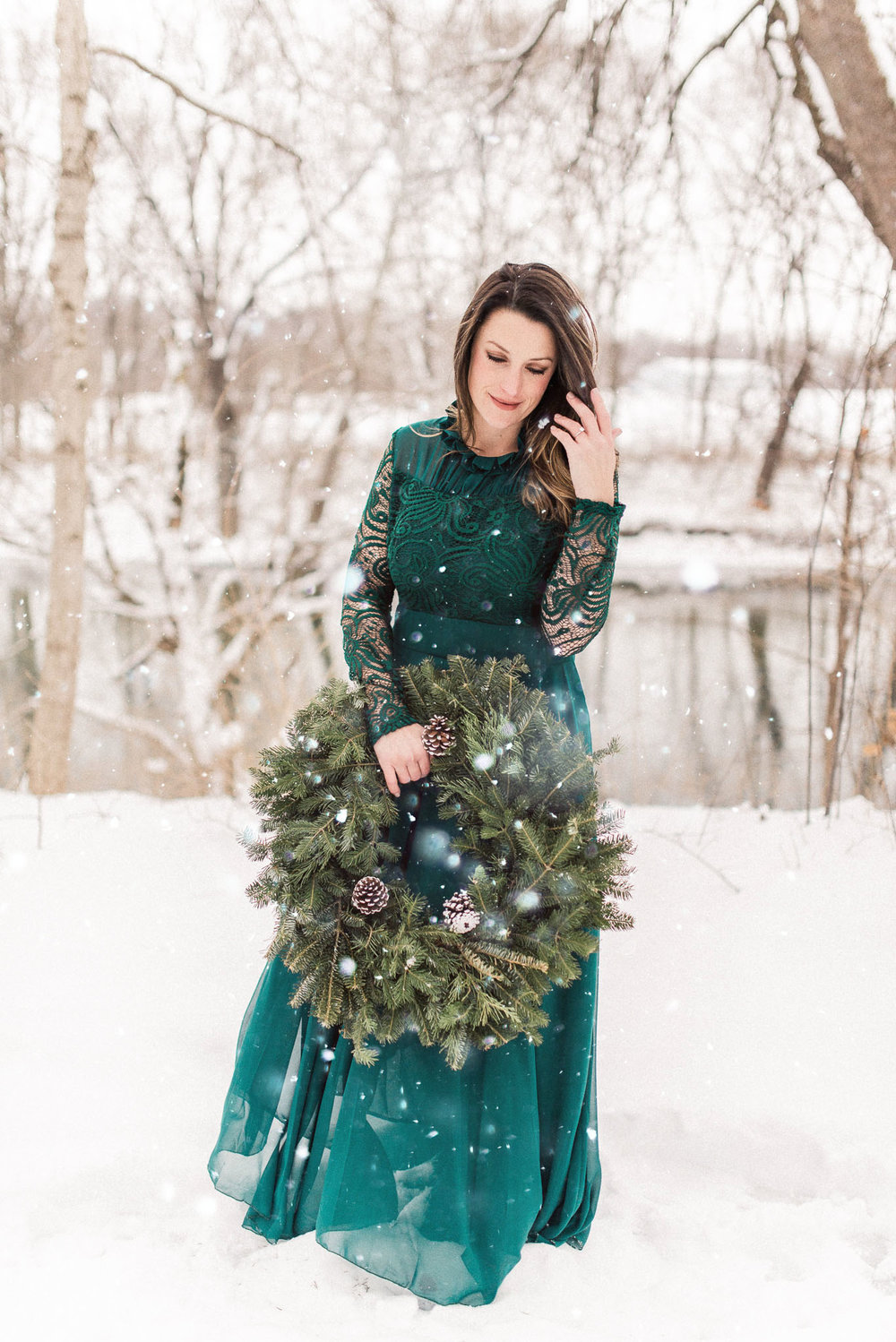 Stephanie + Brody | Enchanting Winter Engagement Photography Session in the Snow | International Destination Wedding & Elopement Photographers in Indianapolis