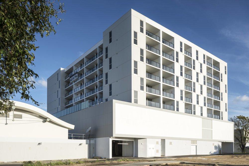 Momentum Apartments, Basement view