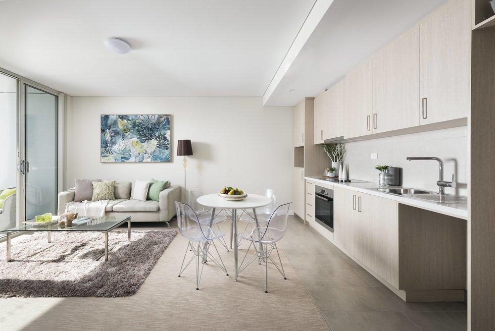 Momentum, Apartment Living