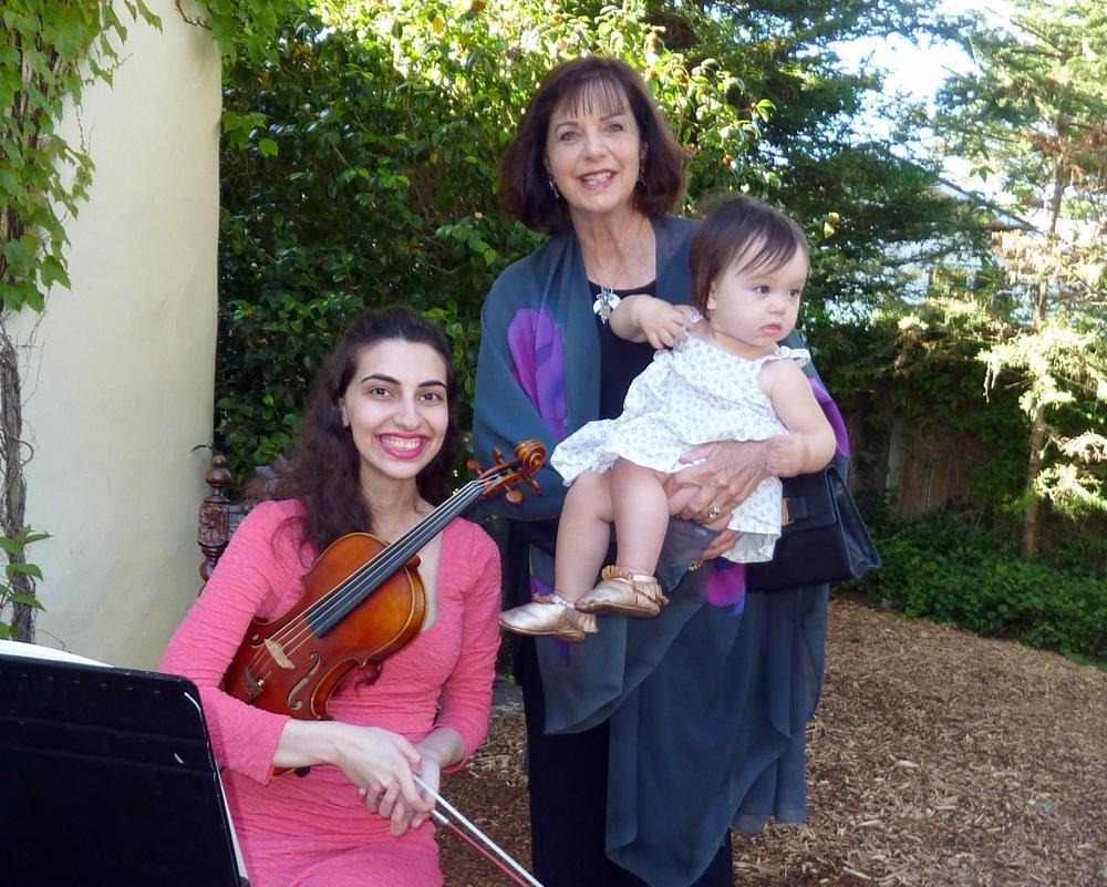Violinist-Carol Lonberger-Coco Lonberger