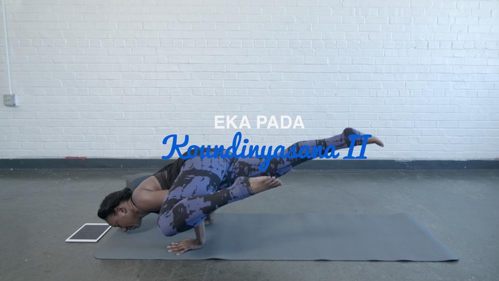 Eka Pada Koundinyasana II