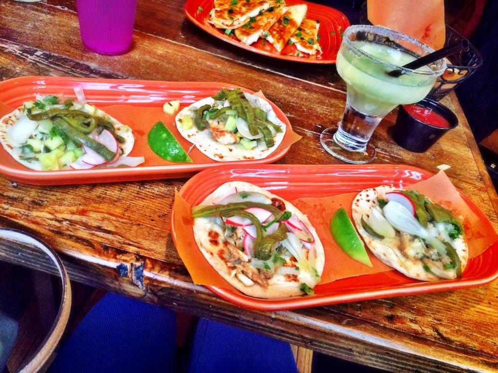 Baja Mahi & Cangrejo tacos