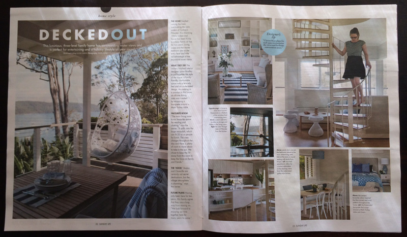 Lynne Bradley Interiors featured in Sunday Life