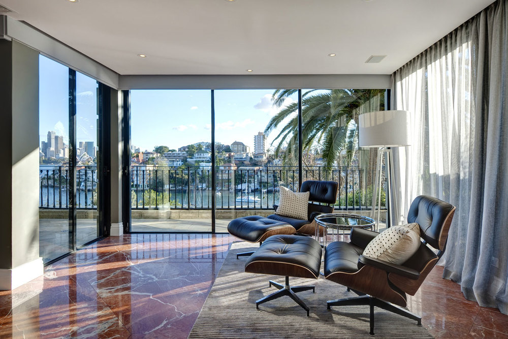 Cremorne Point Apartment - By Lynne Bradley Interiors