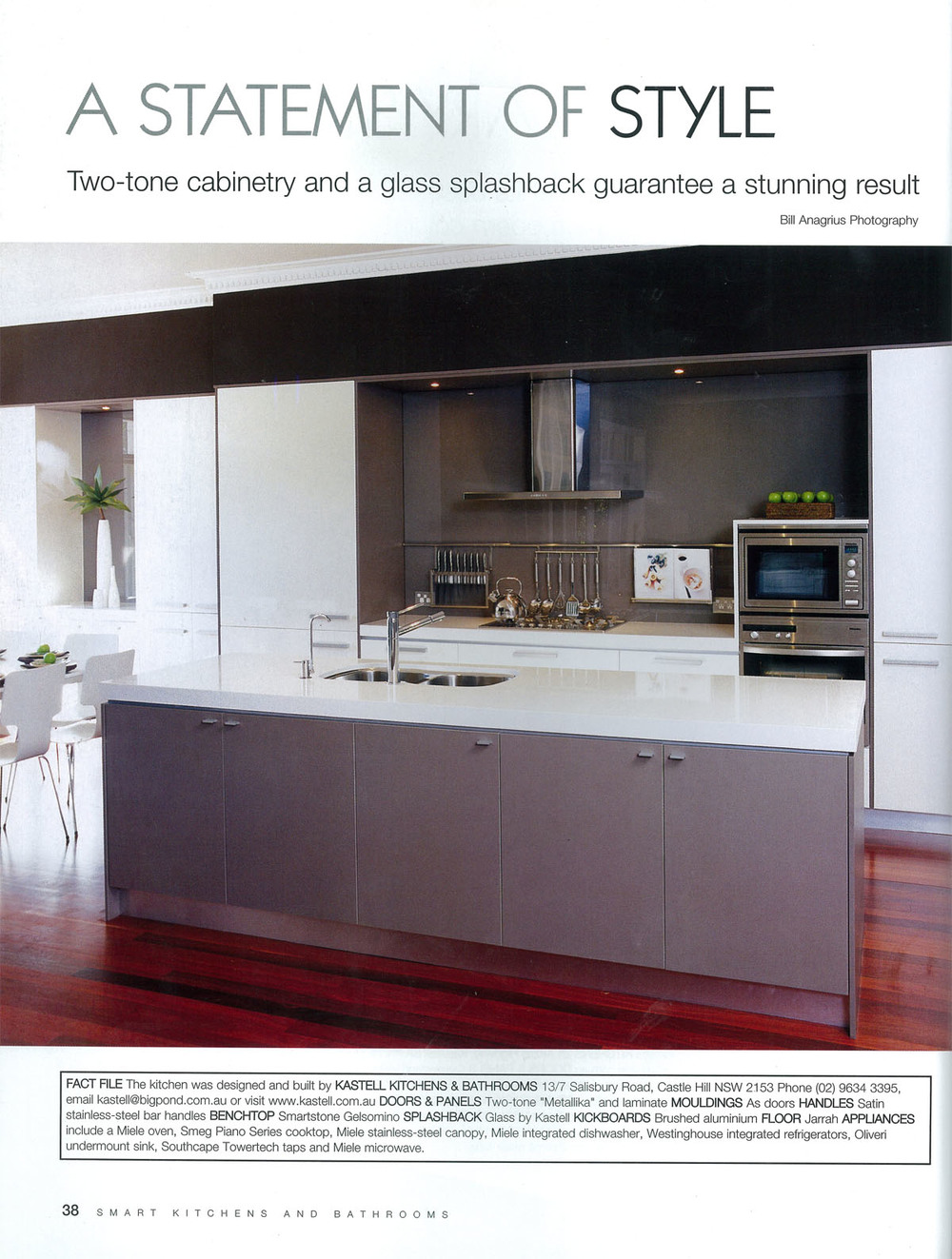 Lynne Bradley Interiors featured in Smart Kitchens & Bathrooms