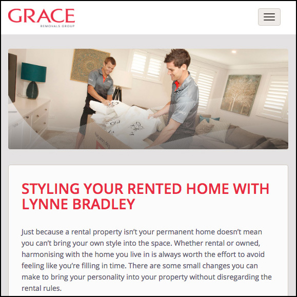 Article featured on Grace Removals Group website
