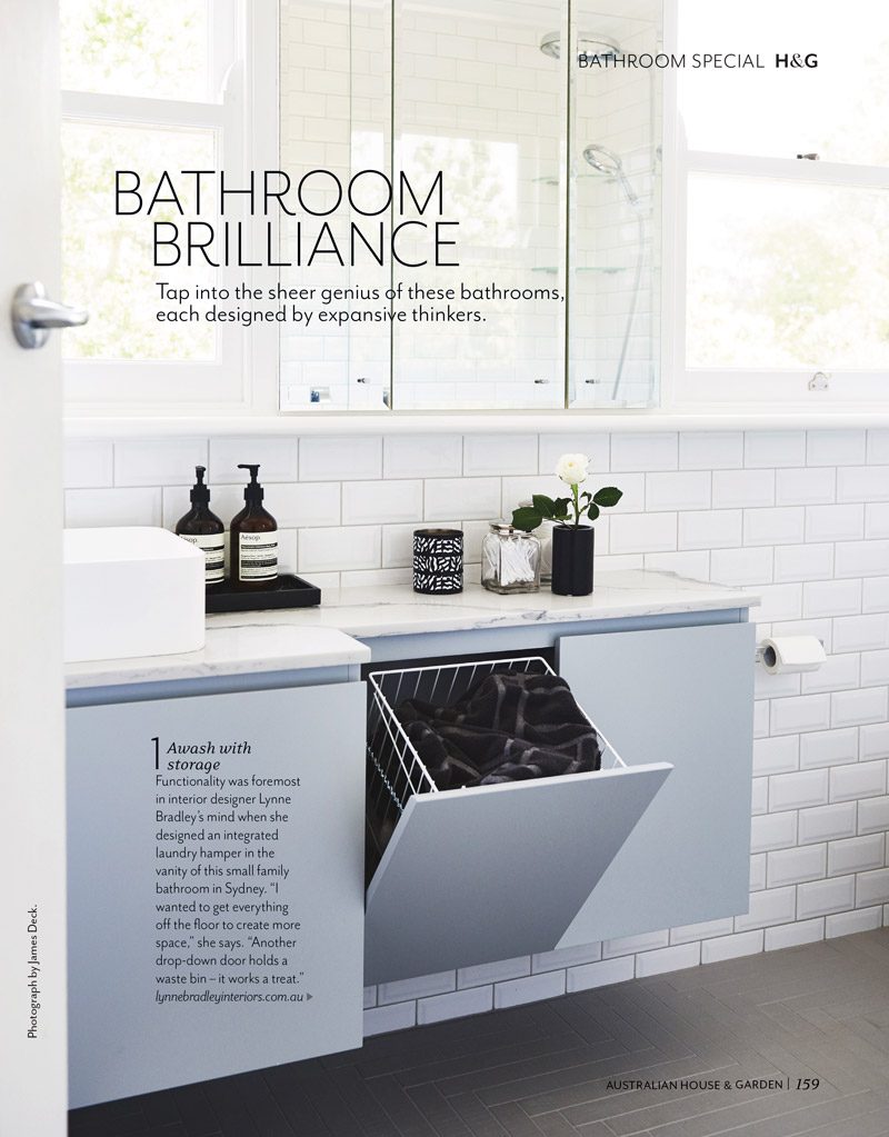 House & Garden June 2017 - Bathroom Brilliance