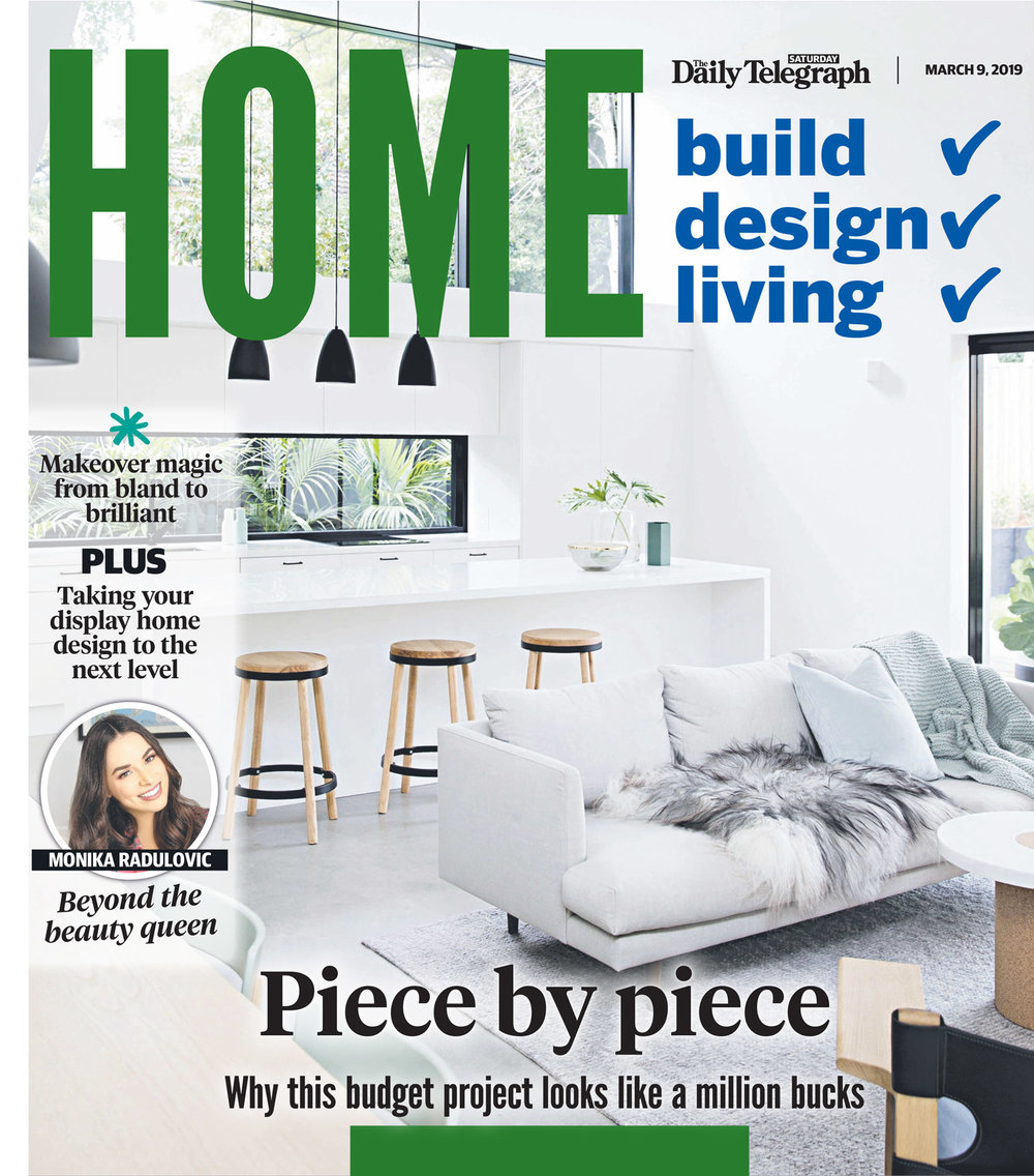 Daily telegraph home feature