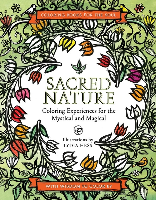 Sacred Nature Coloring Book