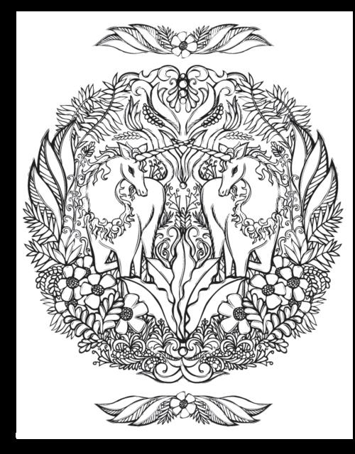 sacred nature coloring book u2014 lydia hess illustration sacred on the nature coloring book