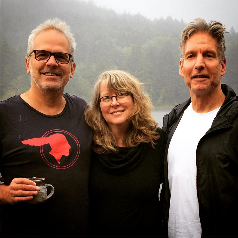 From left: DJ Stout, Lydia Hess, David Simpson