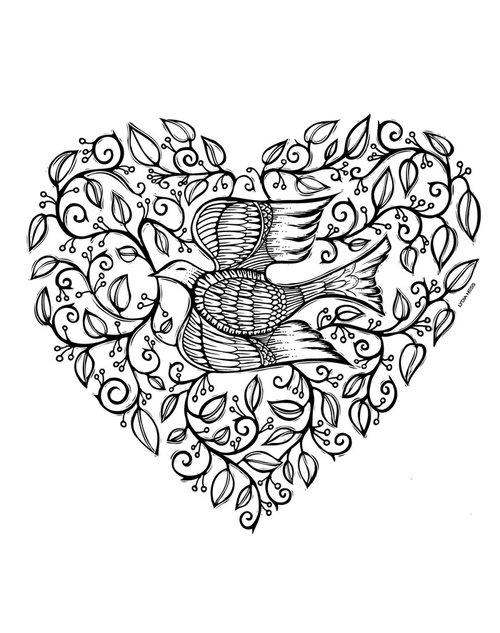 Sacred Angels Coloring Book — Lydia Hess Illustration & Design