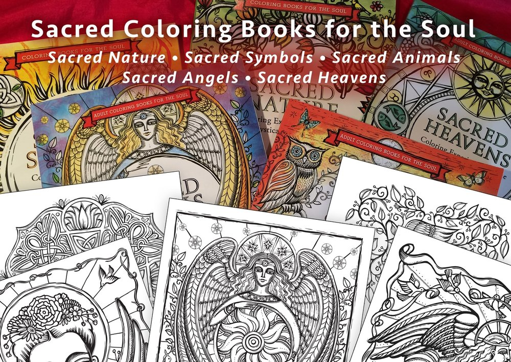 Books and all sorts of Coloring items will be available to purchase at the event.