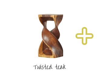 twisted teak