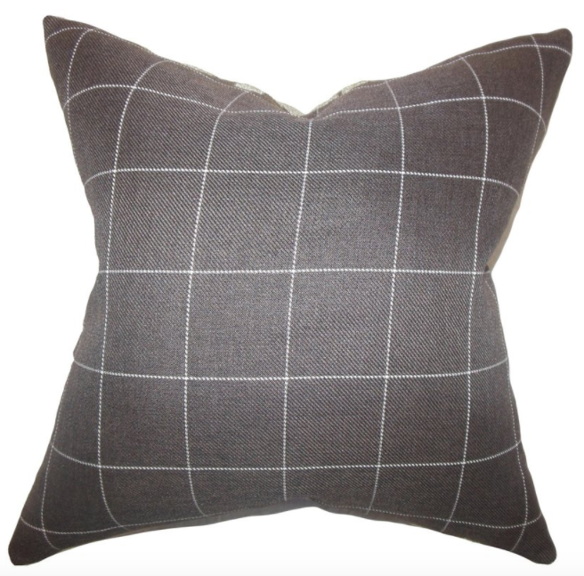 Ivo Plaid Pillow