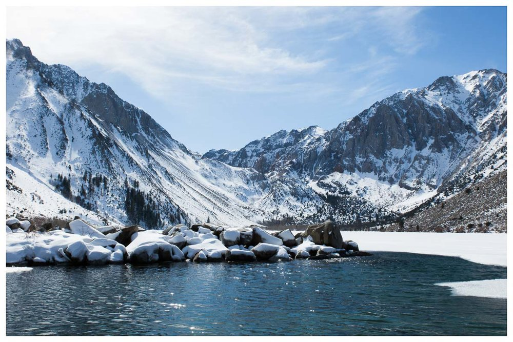 Convict Lake - Winter