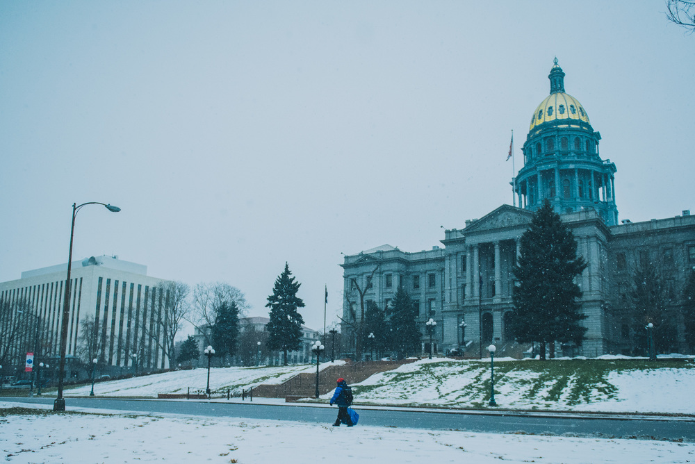 Colorado Capitol, Christmas Day
