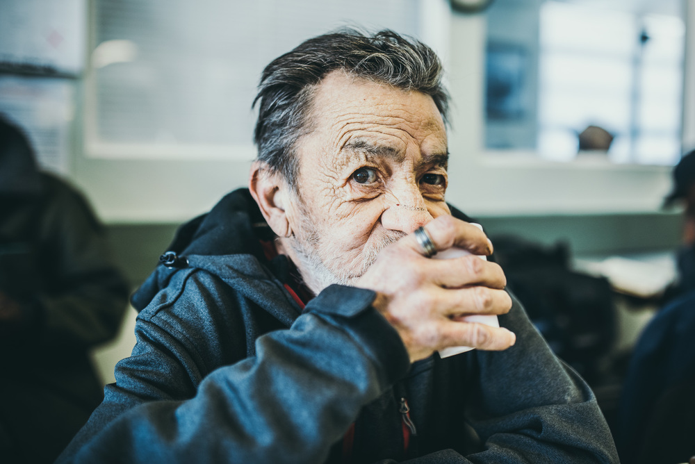 A client at Senior Support Services: a nonprofit in Denver, Colorado. Photo and story by Another Look.