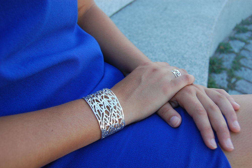 Summer will be here in a jiffy--My favorite summer cuff on and ready for the sun!