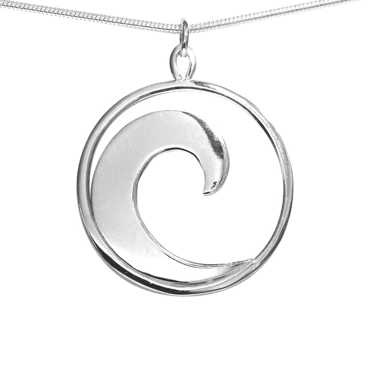 Single Wave Pendant at Betsy Frost Design.jpg