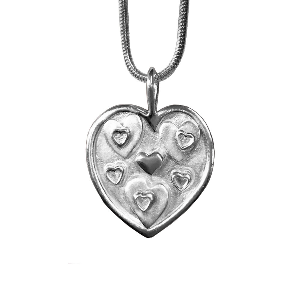 """Heart of Hearts"" Pendant"