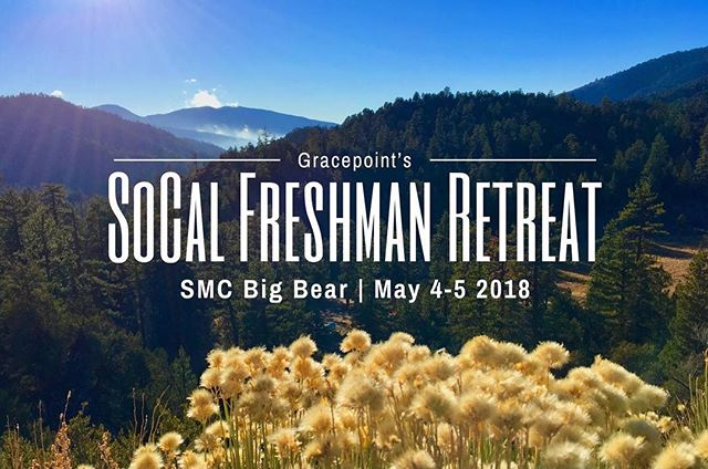 Calling all frosh! We have an awesome retreat coming up that will include ALL the SoCal churches! Link to sign up is in the bio!