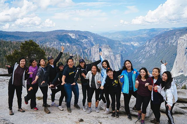 Check out some of these photos from the senior Yosemite getaway this past weekend. #uclaa2f #4weeksleft #yosemite