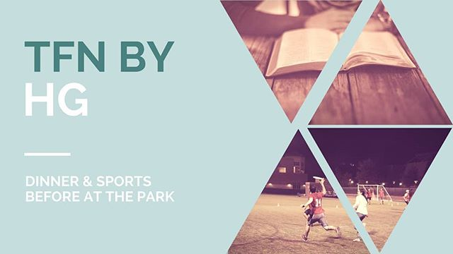Join us tonight for dinner & sports followed by TFN! Rides from Kelton/Levering at 6pm.