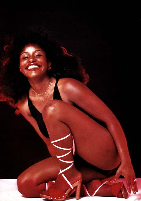Chaka is everythig I would've been in the 70's...*sings* tell me sumthin good