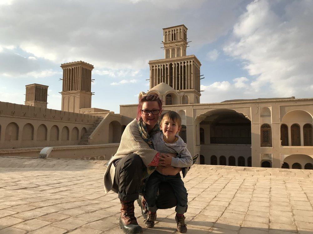 Single mom travel story