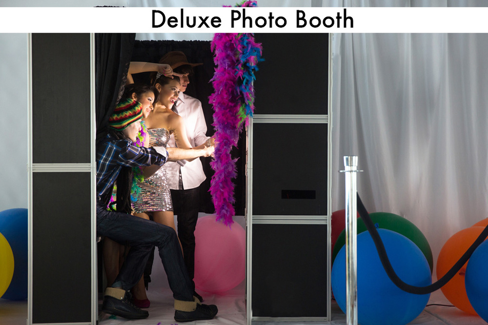 The classic Photo Booth