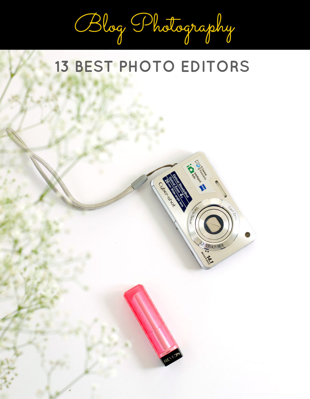 Want to spruce up your blog photos with a little bit of editing? Here is a list of 13 BEST EDITING TOOLS (Paid + FREE) for editing your blog photos!