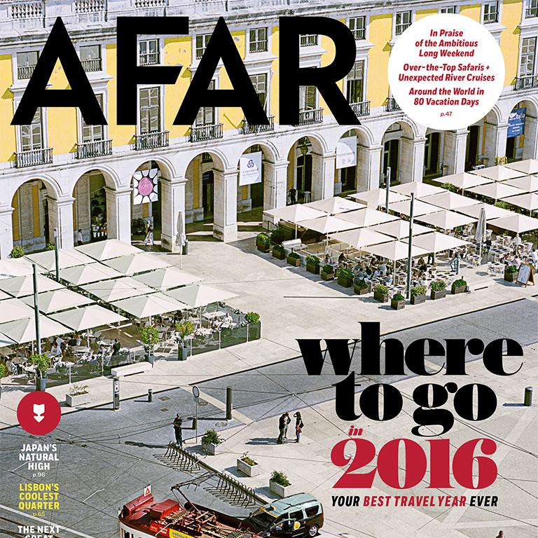AFAR Magazine | Muddy Shoe Adventures was mentioned in the Jan/Feb 2016 issue of AFAR Magazine in 'Fix-Your-Life Vacations.'