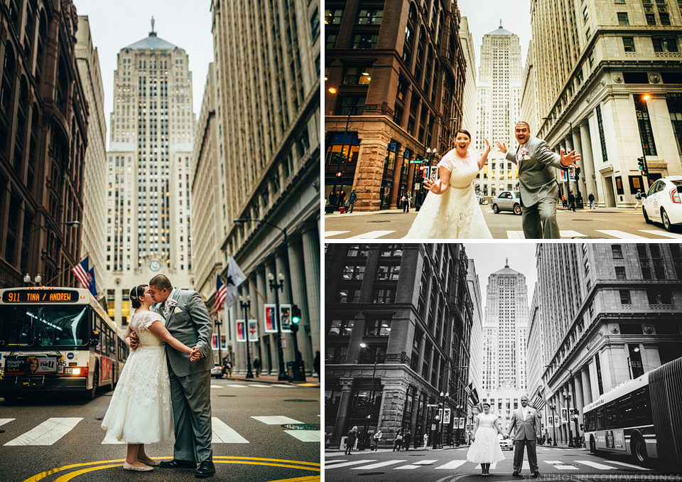 020-chicago-board-of-trade-cbot-wedding-portrait-bridal-bride-and-groom-middle-street-wide-angle.jpg