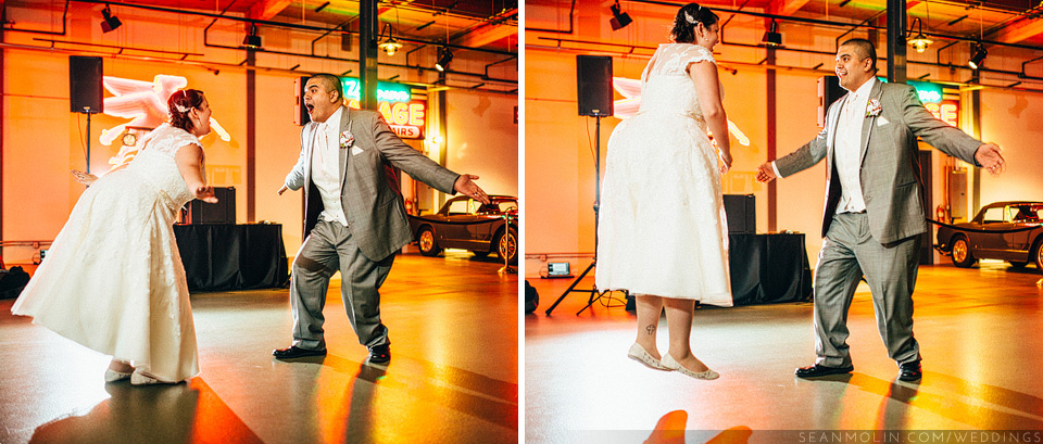 059-funny-first-dance-chicago-bride-jumping-groom-wedding-reception.jpg