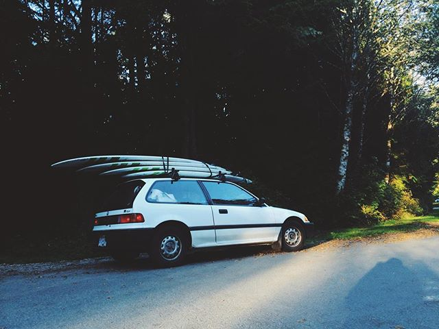 Fully loaded. Long Beach, Tofino.