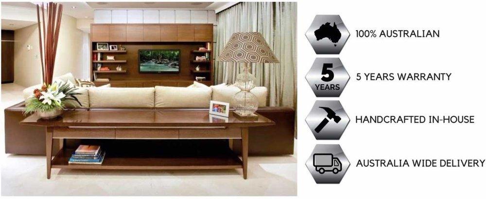 custom made bespoke furniture brisbane