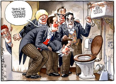 Image courtesy of Peter Brookes at The TImes