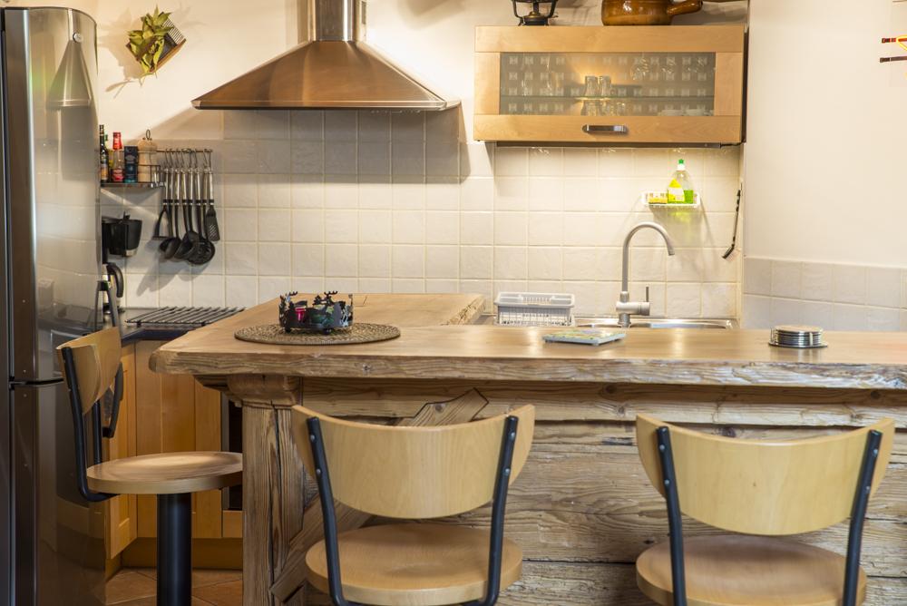 Chalet kitchen La Petite Savoyarde