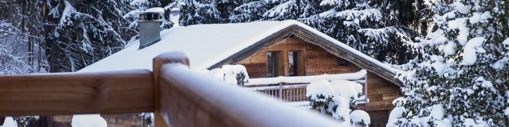 Chamonix valley Ski chalet.