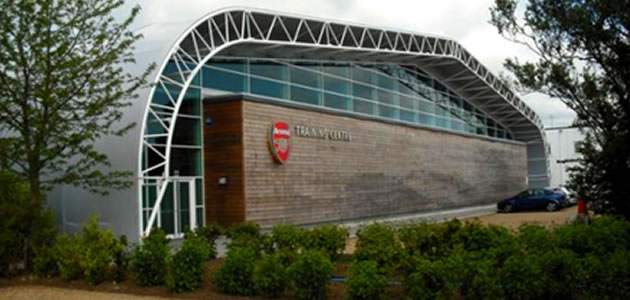 London Colney - Arsenal's training centre where Loïc Swartzendruber has honed his coaching skills
