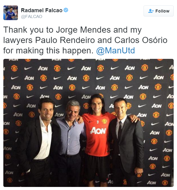 Falcao: An Agent's Dream. 5 clubs in 5 years £££££