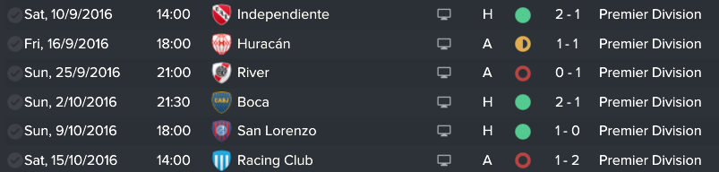 Thank you AI - one month of Big 5 Clubs in my 1st Season at EdlP