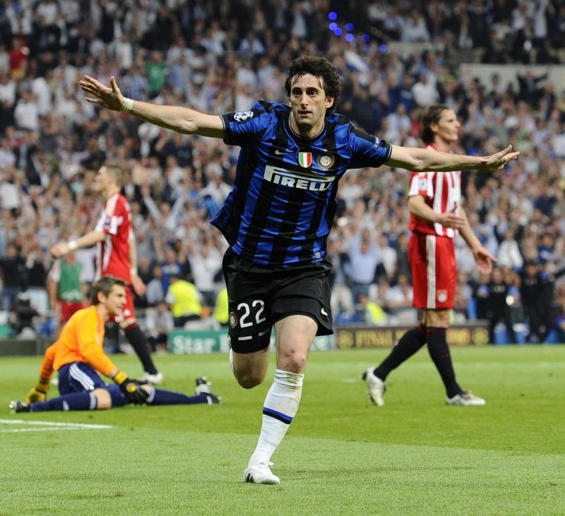 2 of Diego Milito's 30 goals in 2009/10 came when it mattered most, in the 2010 Champions League final.