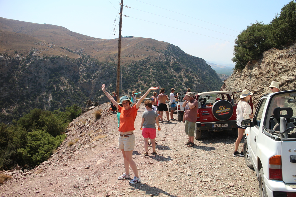 AUGUST: Jeep safari in Crete